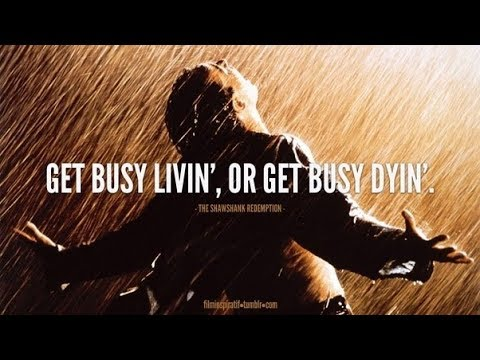 Get Busy Living Or Get Busy Dying Running Through Grief